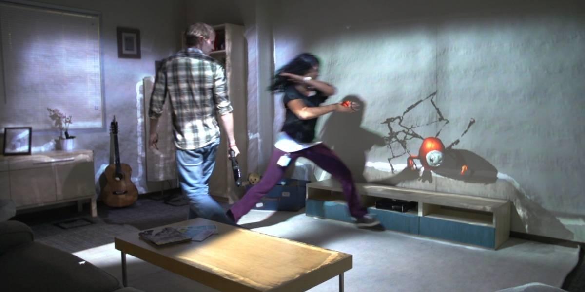 Microsoft pretende convertir tu habitación en un videojuego con RoomAlive