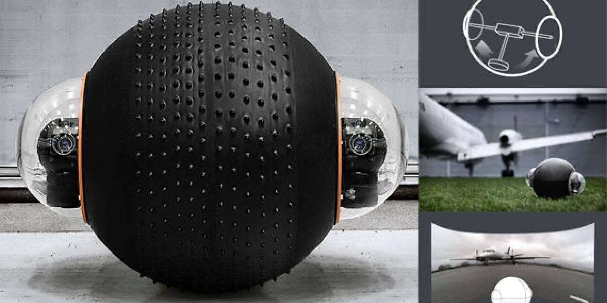 Rotundus GroundBot: El robot guardián en forma de esfera