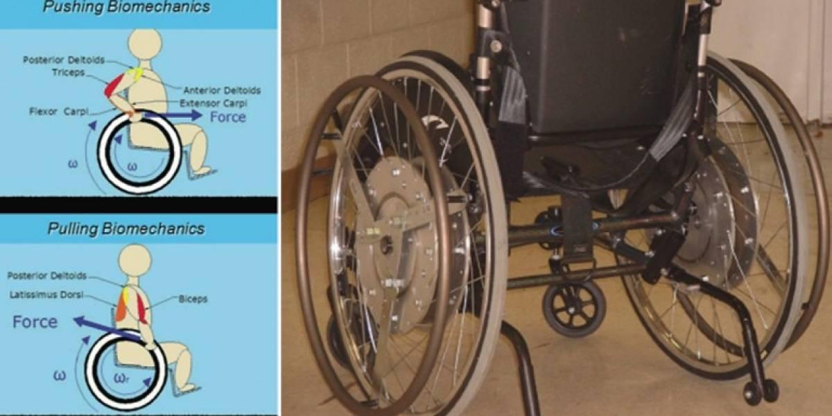 Rowheel, un sistema que mejora el manejo de las sillas de ruedas