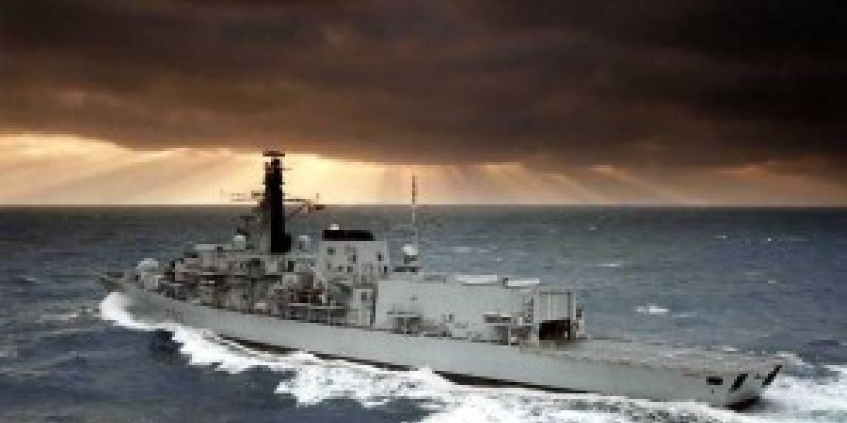 La Armada Británica bajo ataque de un virus