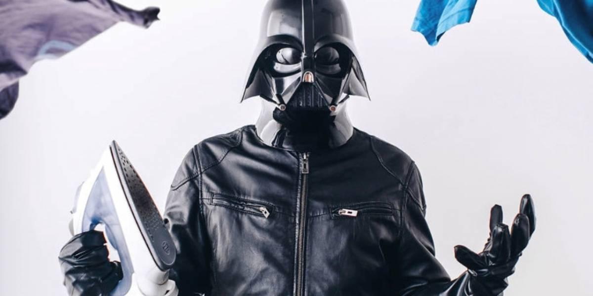 Este proyecto fotográfico reimagina la vida ordinaria de Darth Vader