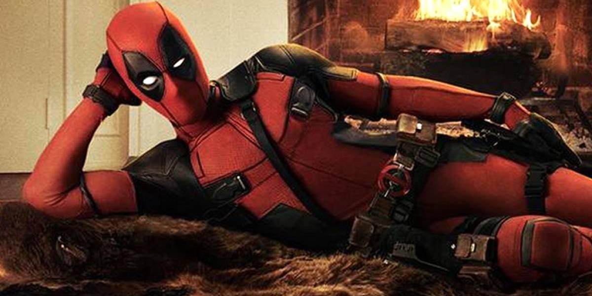 Esta es la primera imagen de Ryan Reynolds en traje de Deadpool
