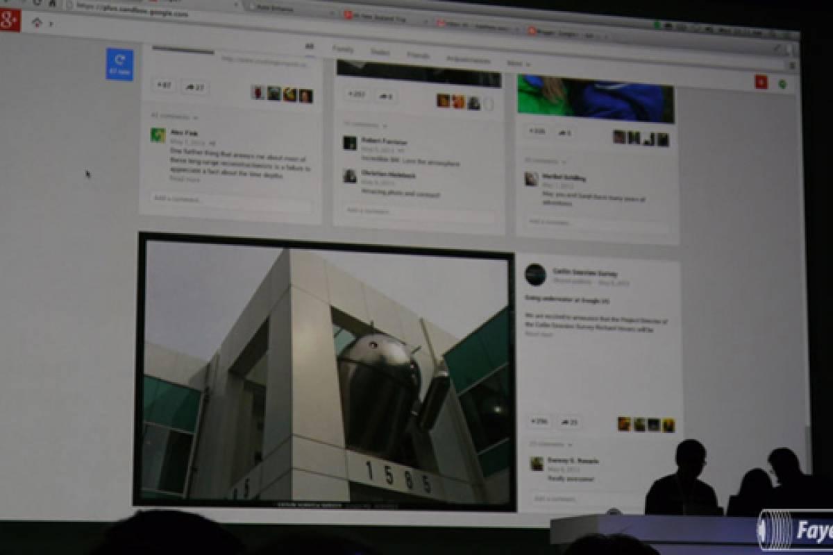 Red social Google+ recibe un rediseño y nuevas funciones #IO13