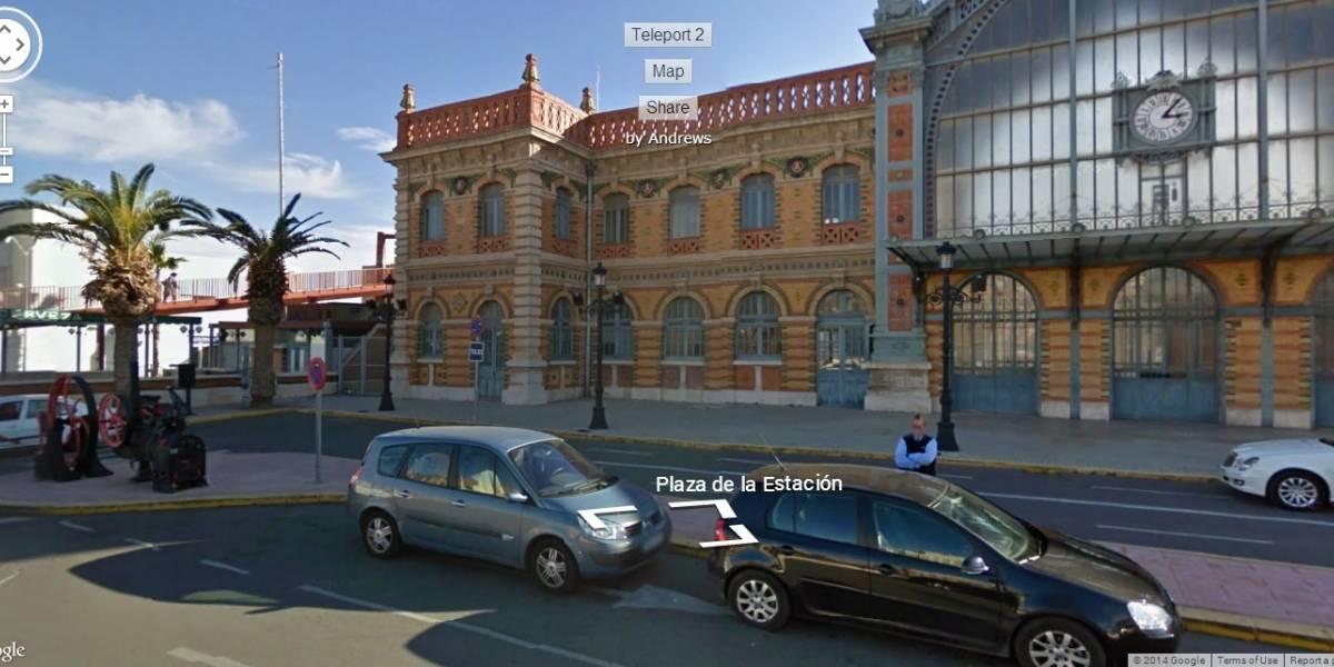 Página web te permite recorrer lugares al azar en Google Street View