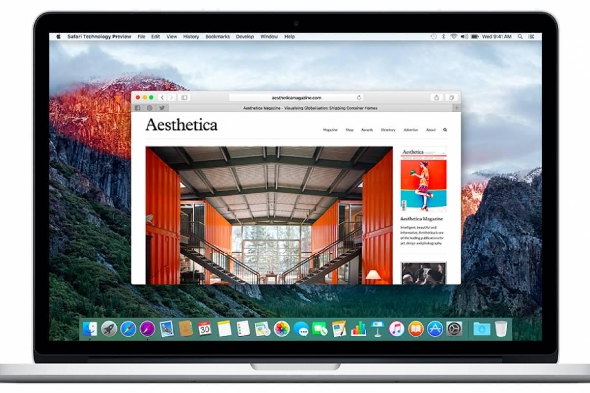 Apple lanzó Safari Technology Preview, un navegador para desarrolladores