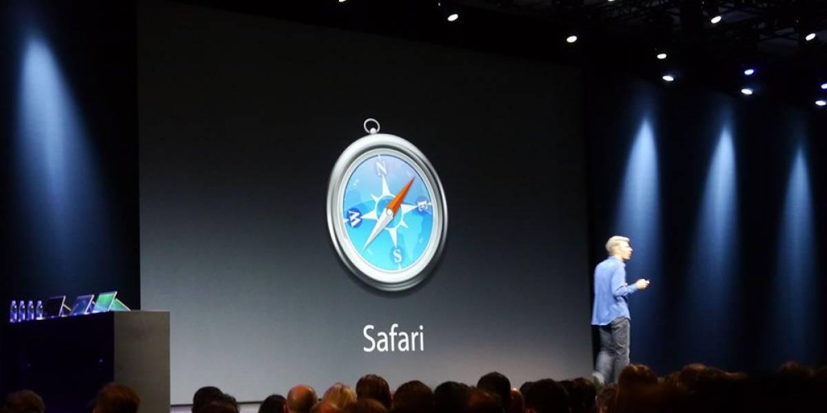 Apple presenta una nueva versión de Safari más rápida y social #WWDC13