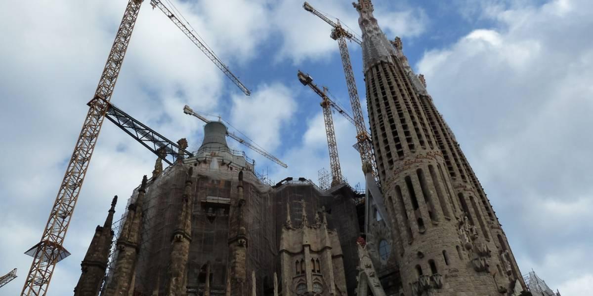 Completan la Sagrada Familia con software aeronáutico