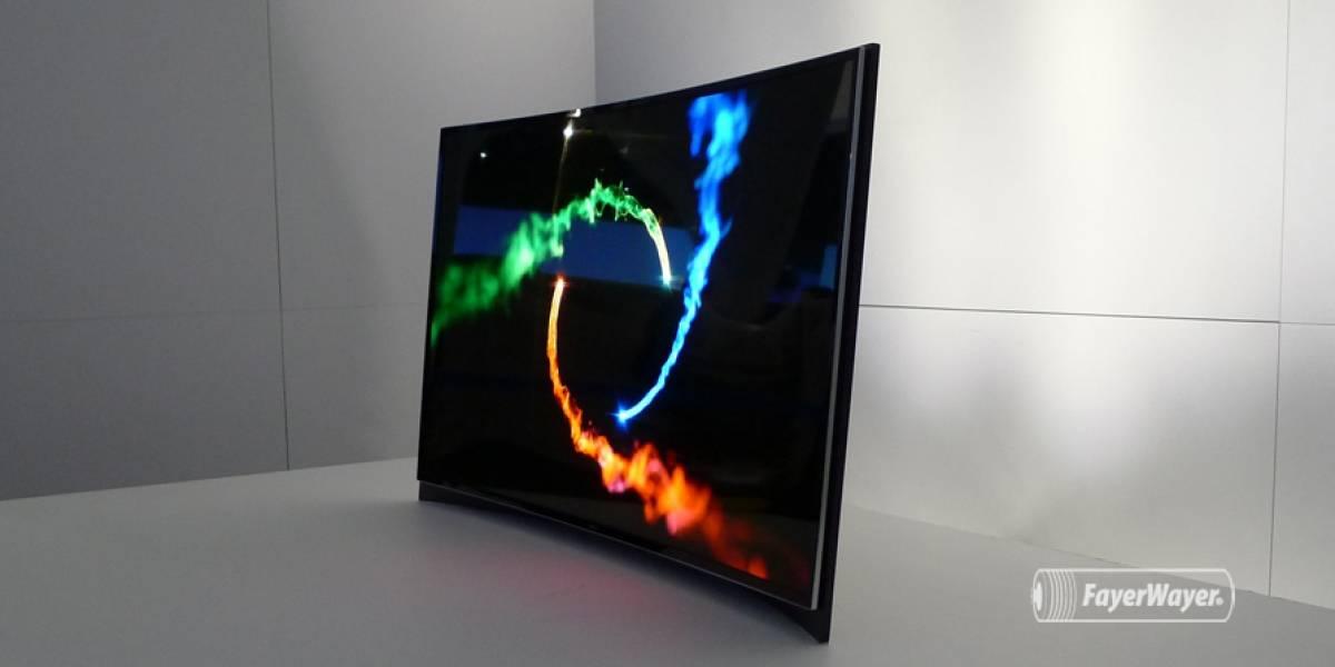 Samsung le pone precio a su primer televisor OLED curvo