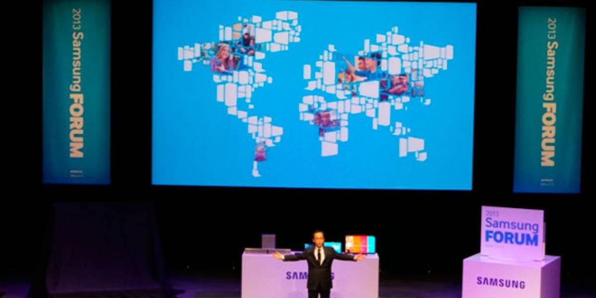 Cámaras WiFi, Smart TV mejorados, monitores táctiles y ultrabooks con W8 en el Samsung Forum 2013
