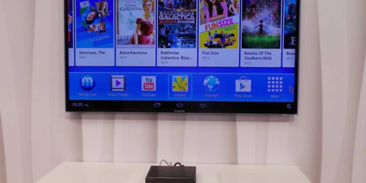 MWC13: Samsung Home Sync, la 'nube' personal que dota de inteligencia a tu tele