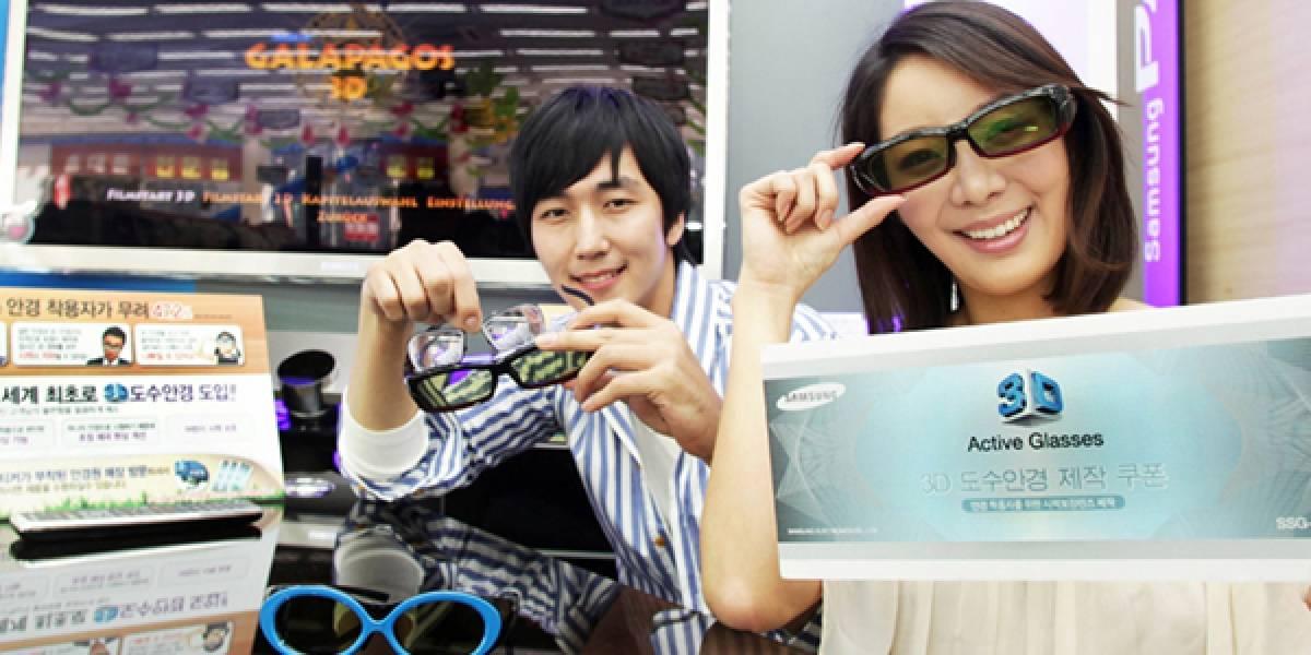 Samsung planea hacer anteojos 3D para gente miope