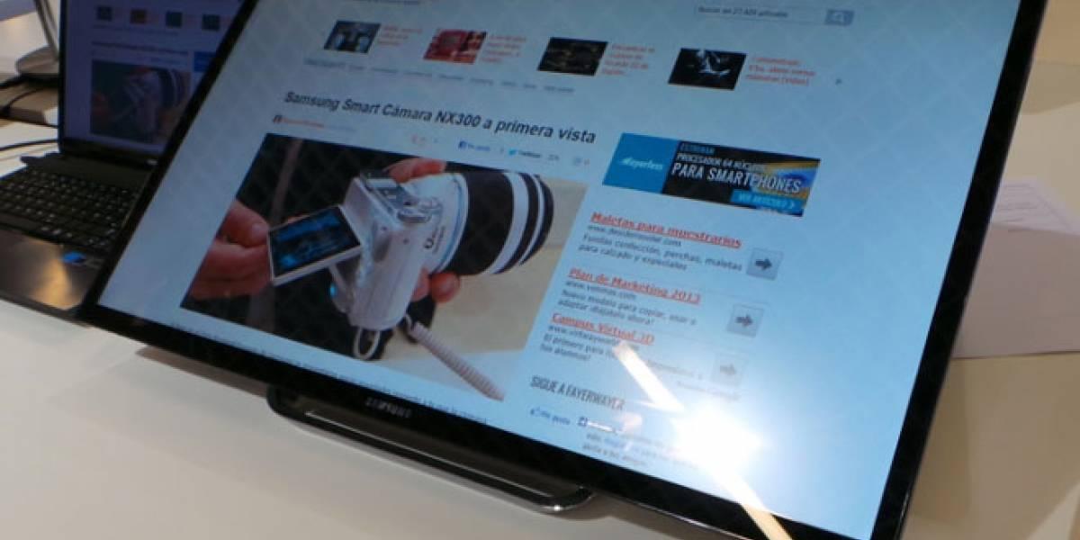 Un vistazo al Serie 7 SC770, el primer monitor táctil de Samsung optimizado para Windows 8