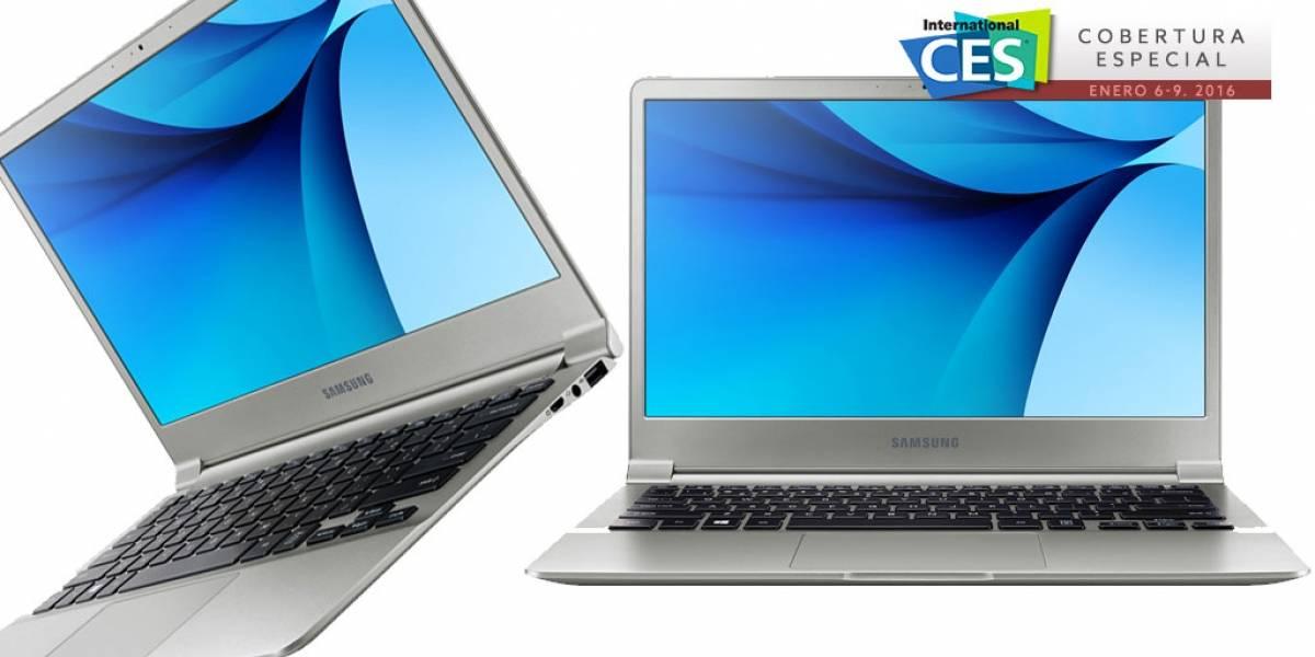 Samsung presenta su nueva línea Notebook 9 #CES2016