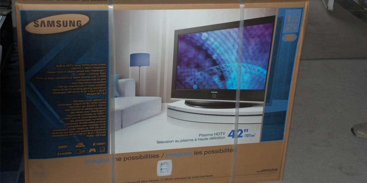 Samsung dejará de fabricar televisores de plasma a fines de este año
