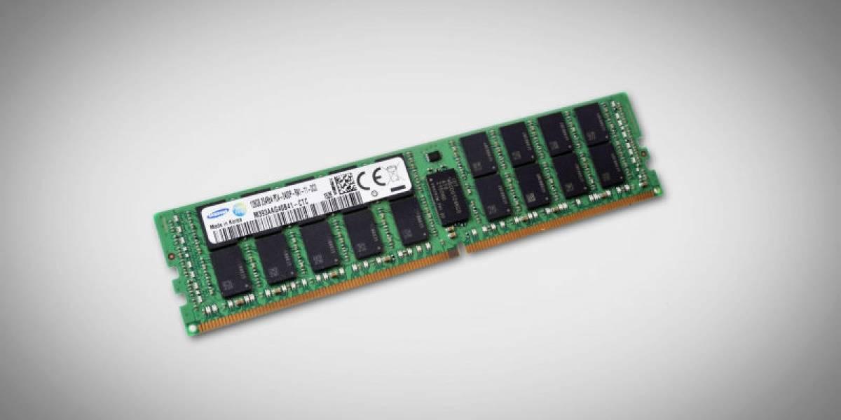 Samsung tiene listo un módulo de memoria RAM de 128GB
