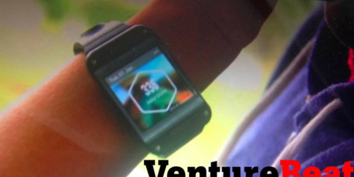 Las imágenes filtradas del Galaxy Gear serían de un prototipo para desarrolladores