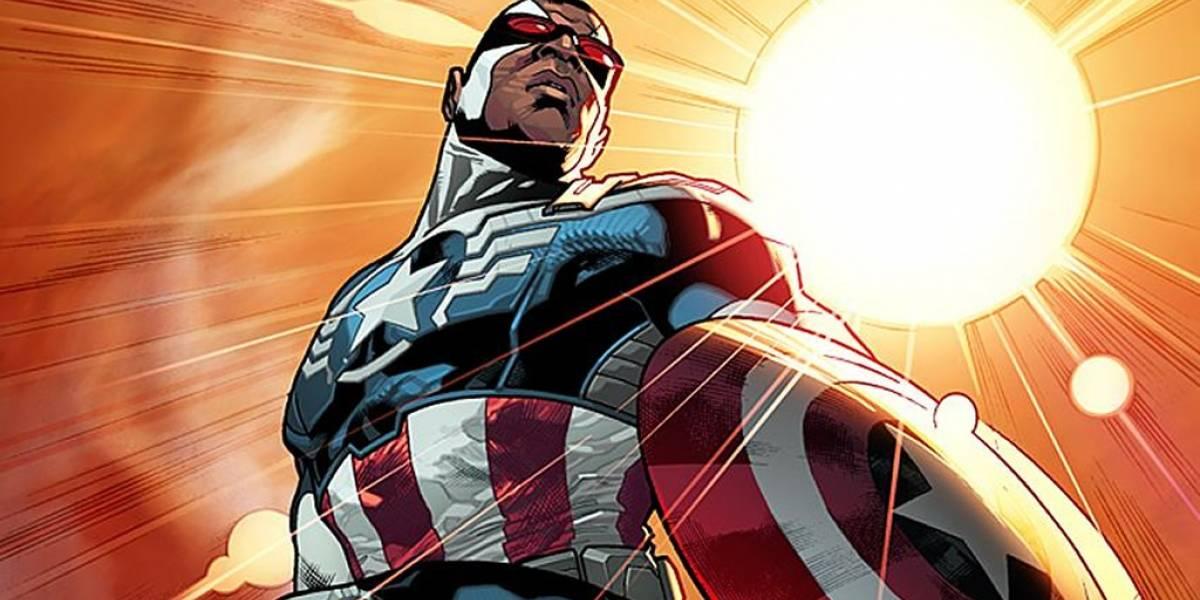 Marvel anuncia a Falcon como nuevo Capitán América