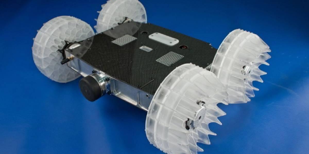 Desarrollan un robot capaz de saltar a 10 metros de altura