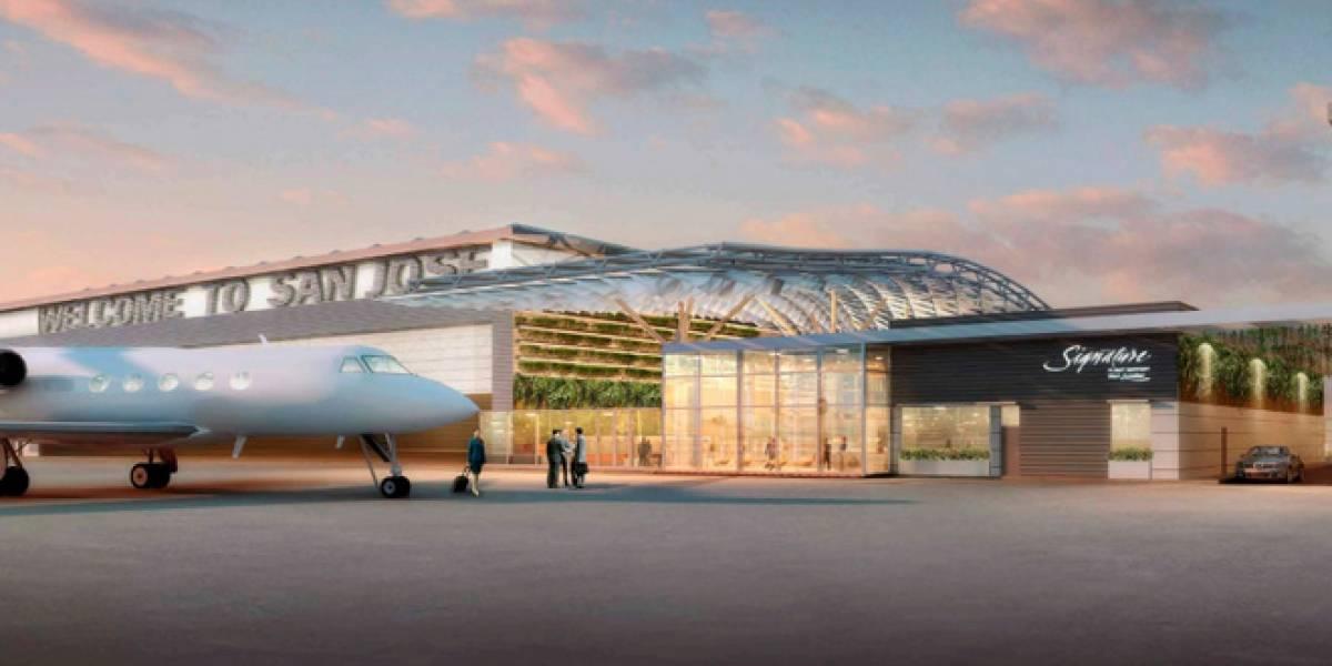 Ejecutivos de Google ampliarán el aeropuerto de San José en Silicon Valley para alojar sus jets