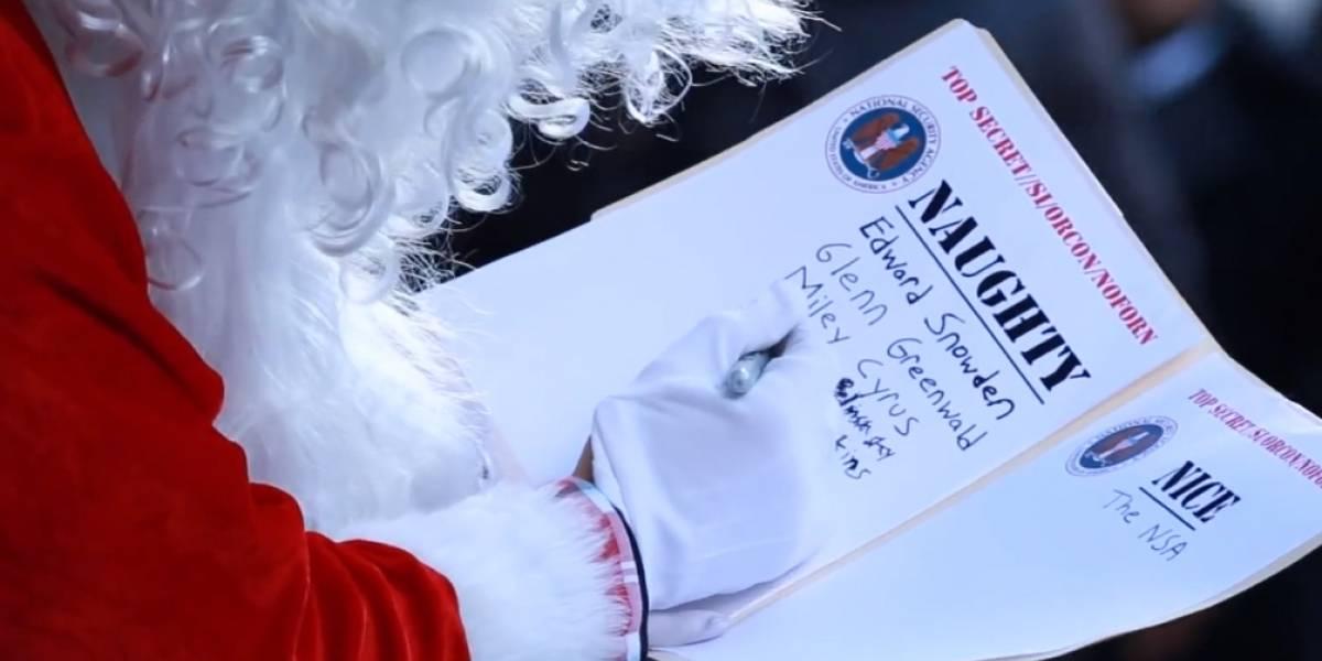 La NSA te desea Feliz Navidad
