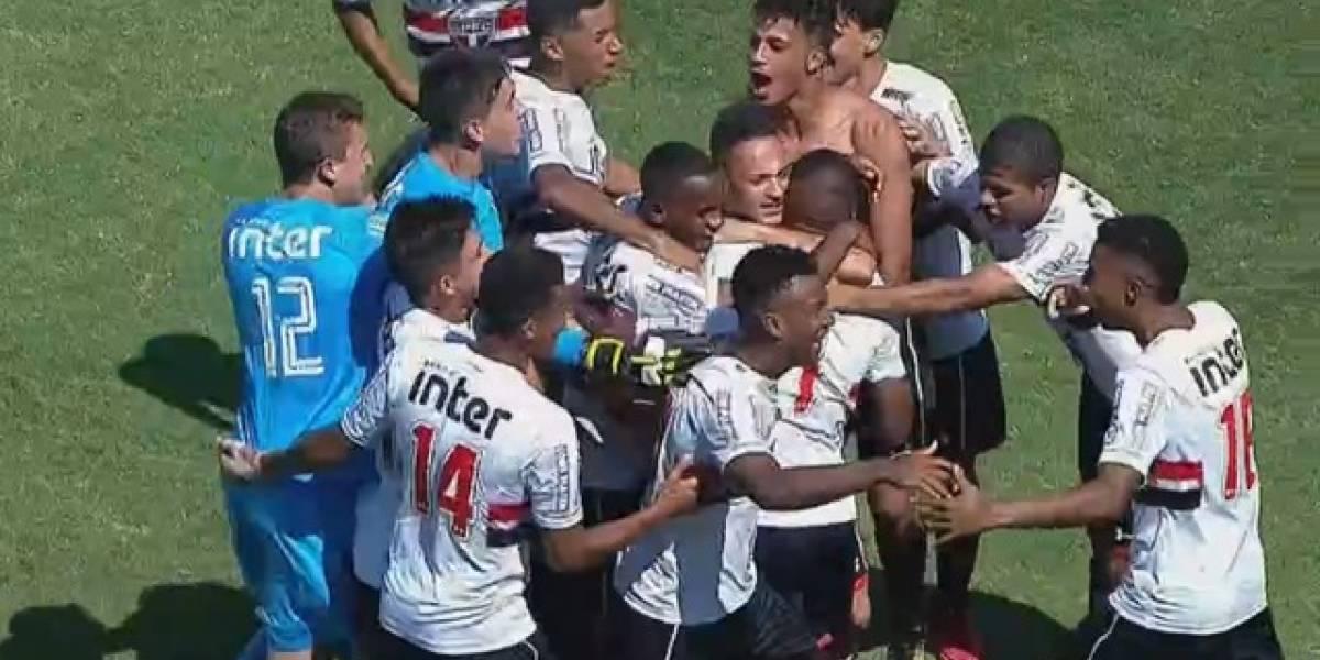 Nos pênaltis, São Paulo bate o Inter e vai à final da Copinha