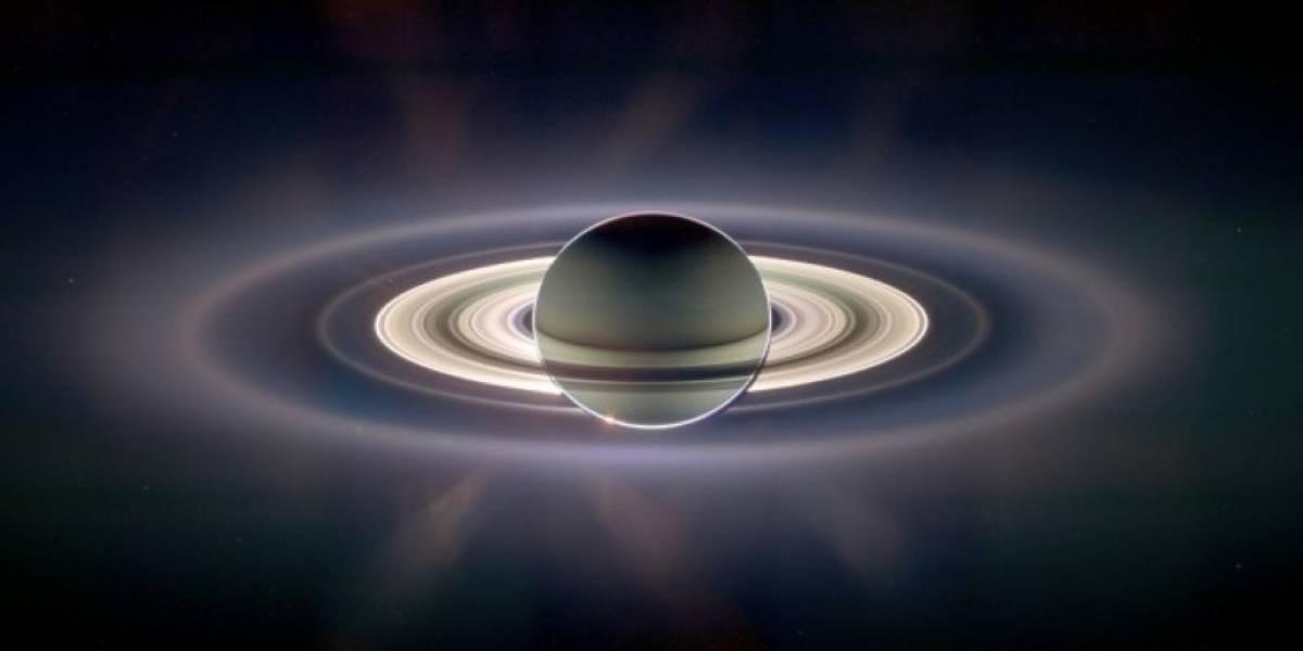 Astrónomos japoneses deducen origen del anillo F de Saturno