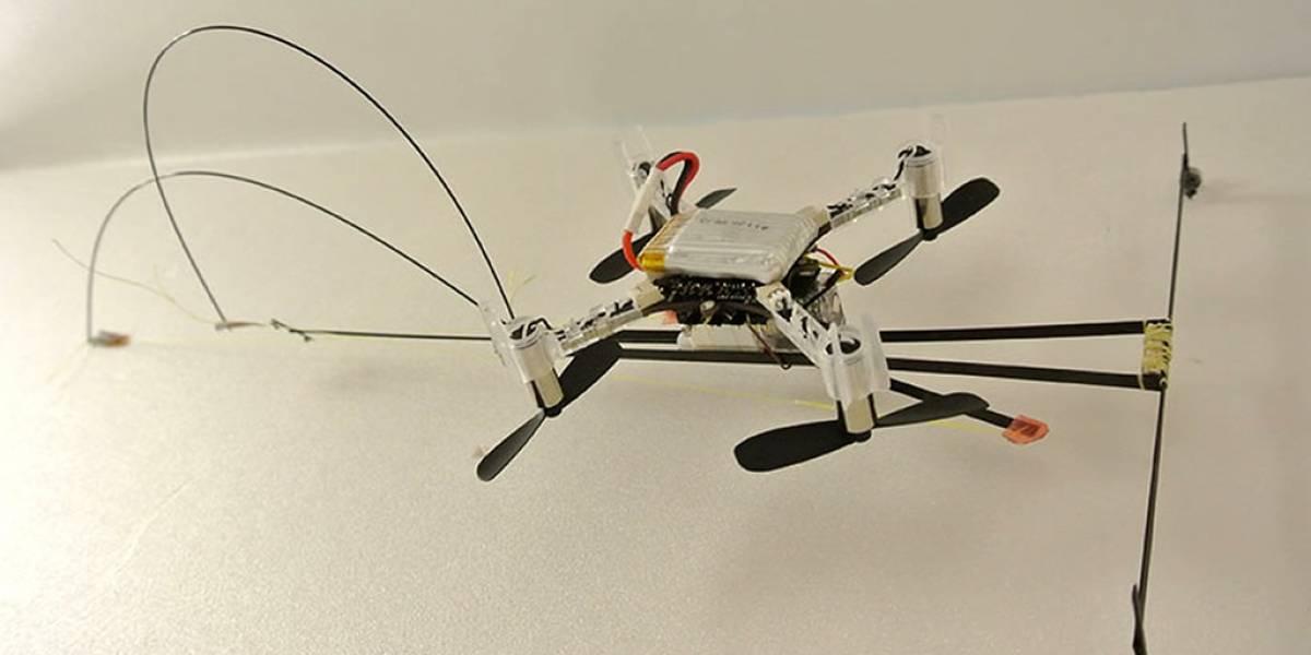 Scamp es el robot que camina, vuela y escala paredes