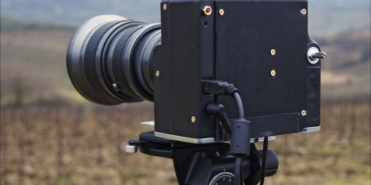 Modifican scanner para convertirlo en cámara de 143 megapixeles