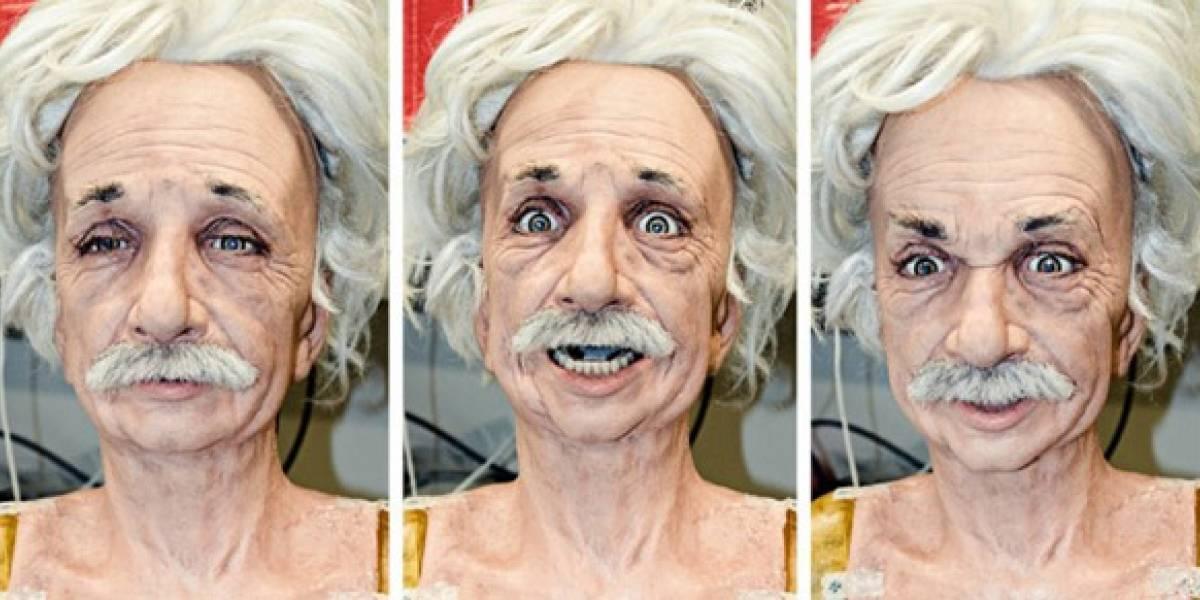 Robo-Einstein aprende a mostrar sus emociones