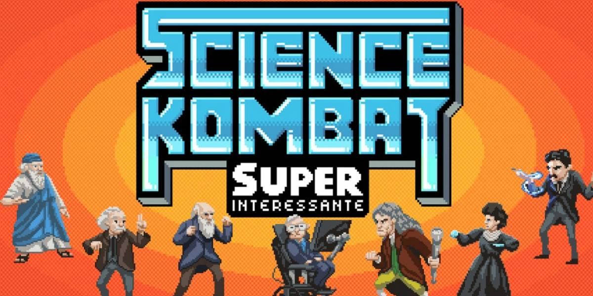 Science Kombat: El juego de pelea de los grandes científicos