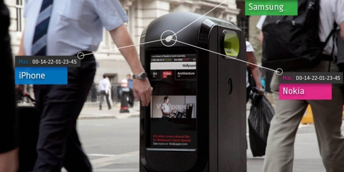 Basureros recolectaban datos de smartphones en Londres