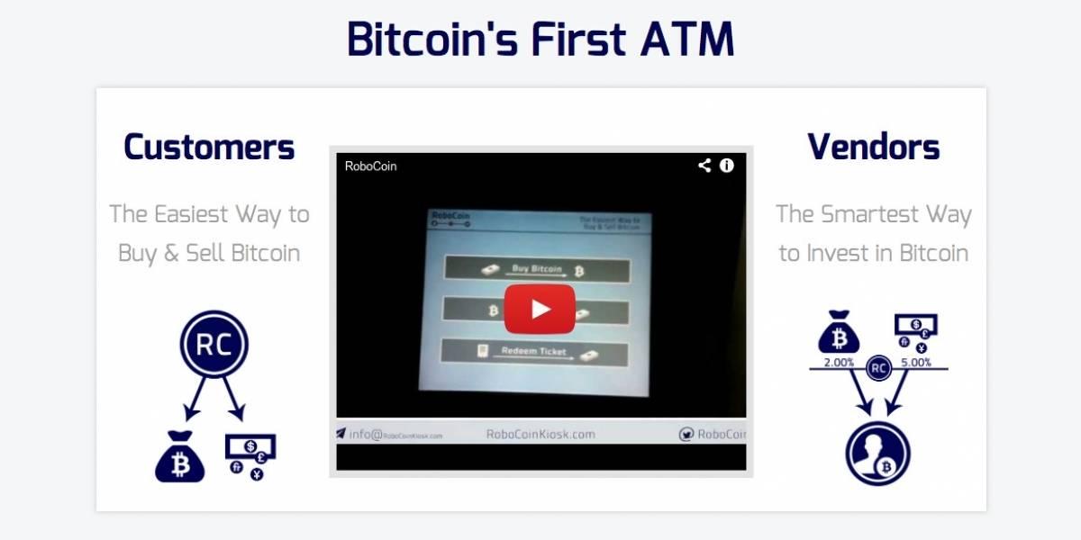 Ya se encuentra en preventa en RoboCoin, el primer cajero automático de bitcoins
