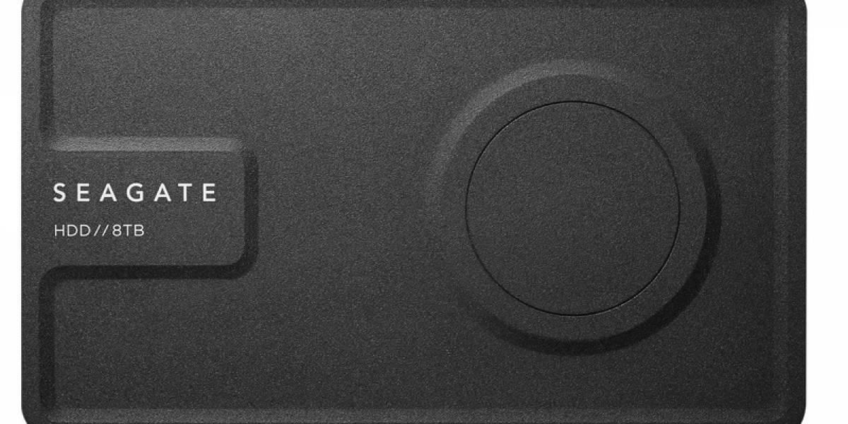 Seagate presentó un disco duro de 8TB que no requiere de conexión eléctrica