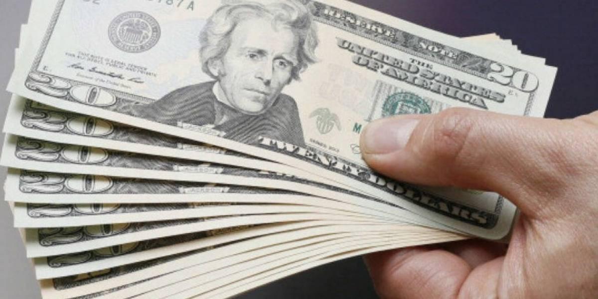 Dólar repunta a 19.44 pesos en ventanillas bancarias