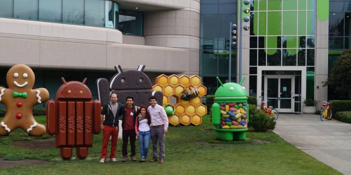 Estudiantes chilotes ganadores de concurso de innovación viajaron a conocer Silicon Valley