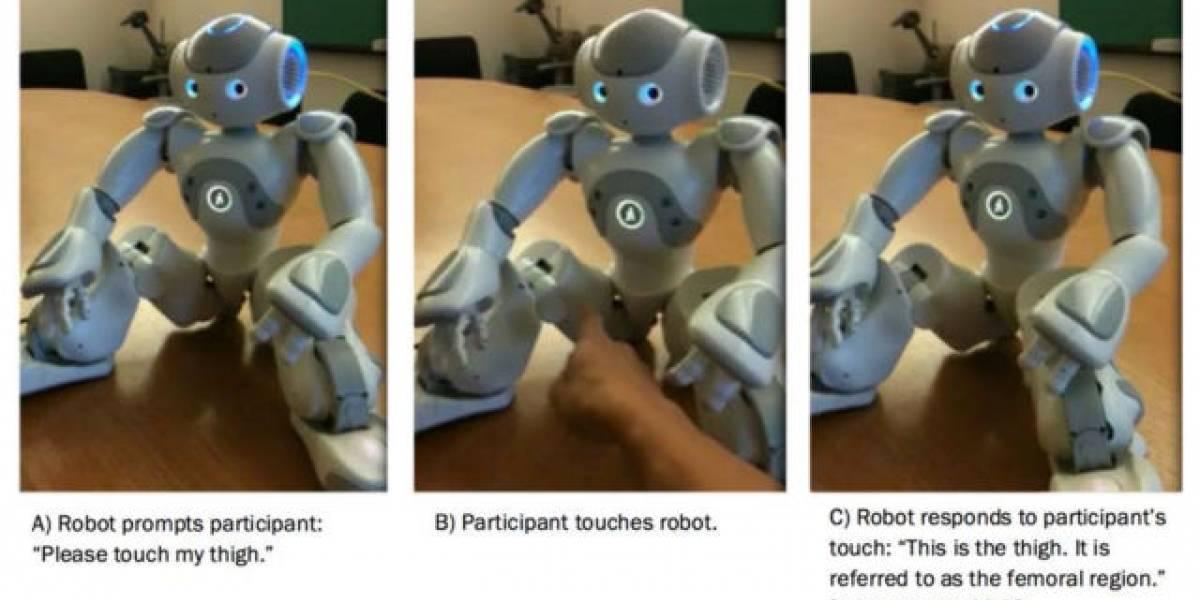 Este robot te pide que le toques el trasero