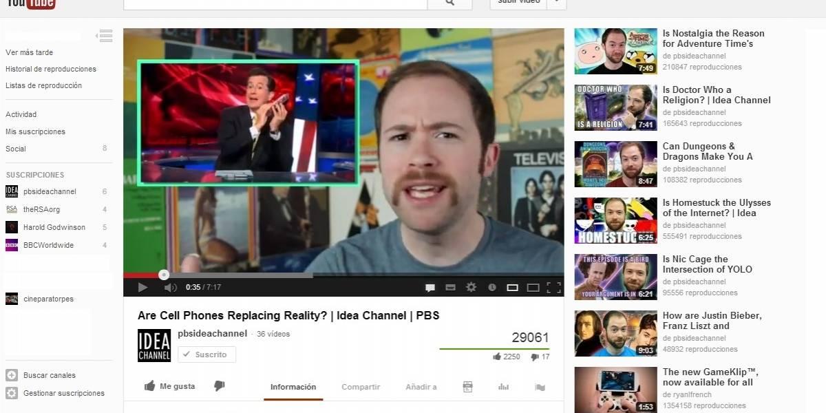 YouTube cambia su diseño para incentivar las suscripciones a canales de contenido