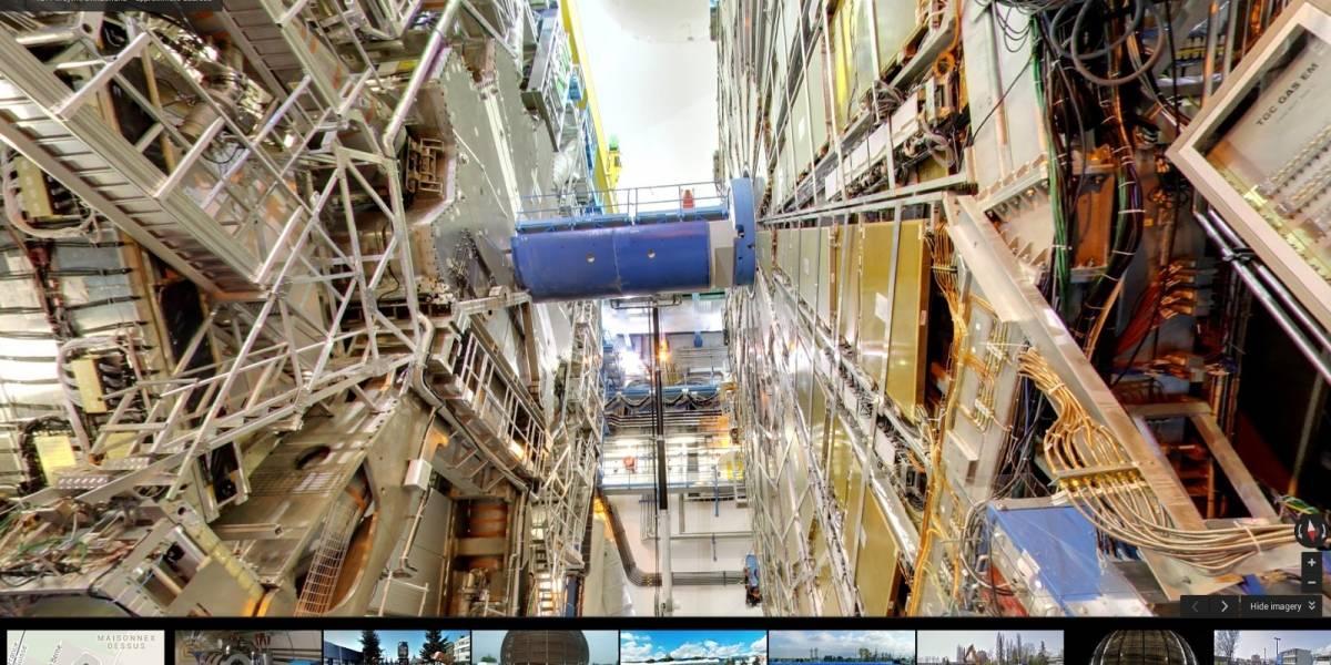 Google Street View llega al Gran Colisionador de Hadrones