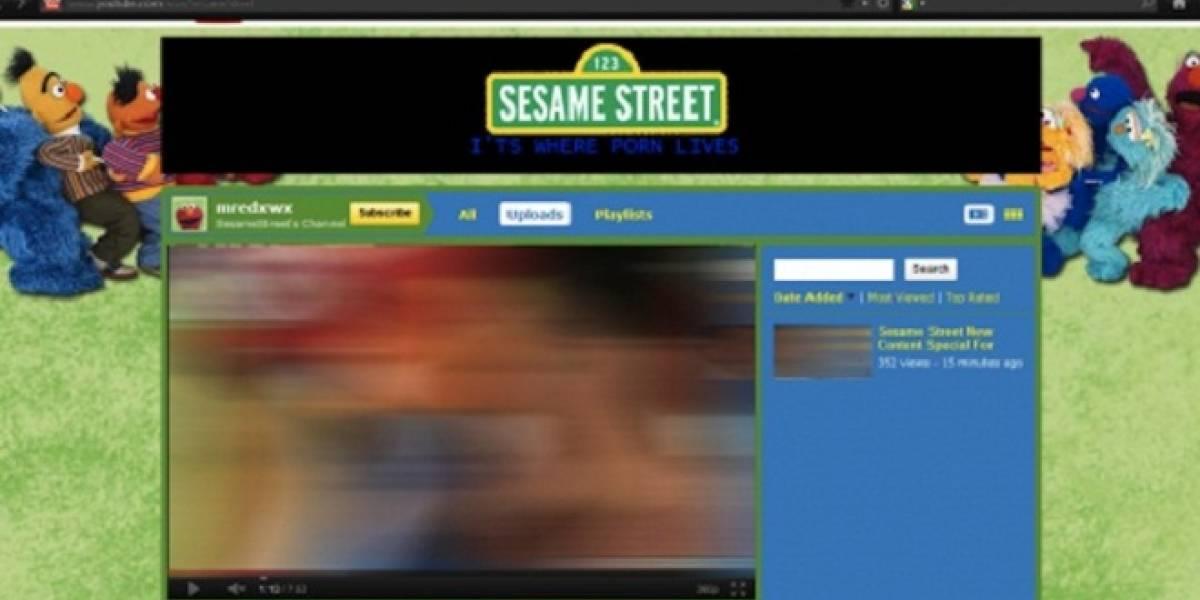 Cuenta de Plaza Sésamo en YouTube fue hackeada con material pornográfico