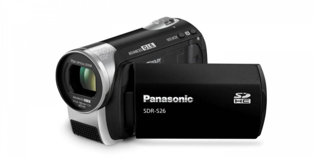 Panasonic SDR-S26: La videocámara con acercamiento extremo