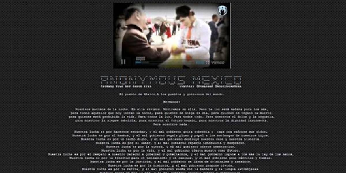 México: Sedena y Semar niegan ser vulnerables tras ataque de Anonymous