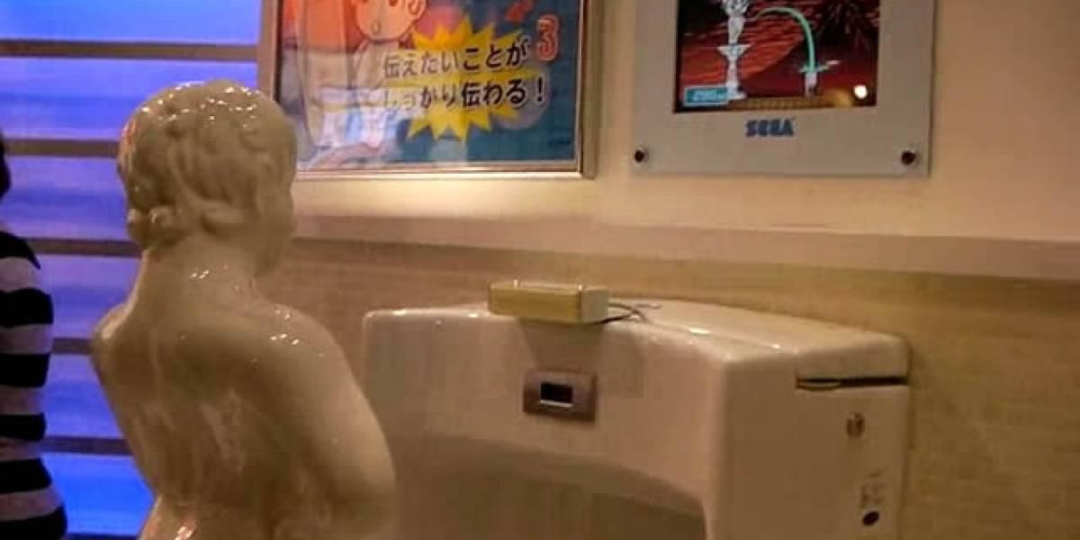 Sega convierte la puntería urinaria en un desafío (muy) personal