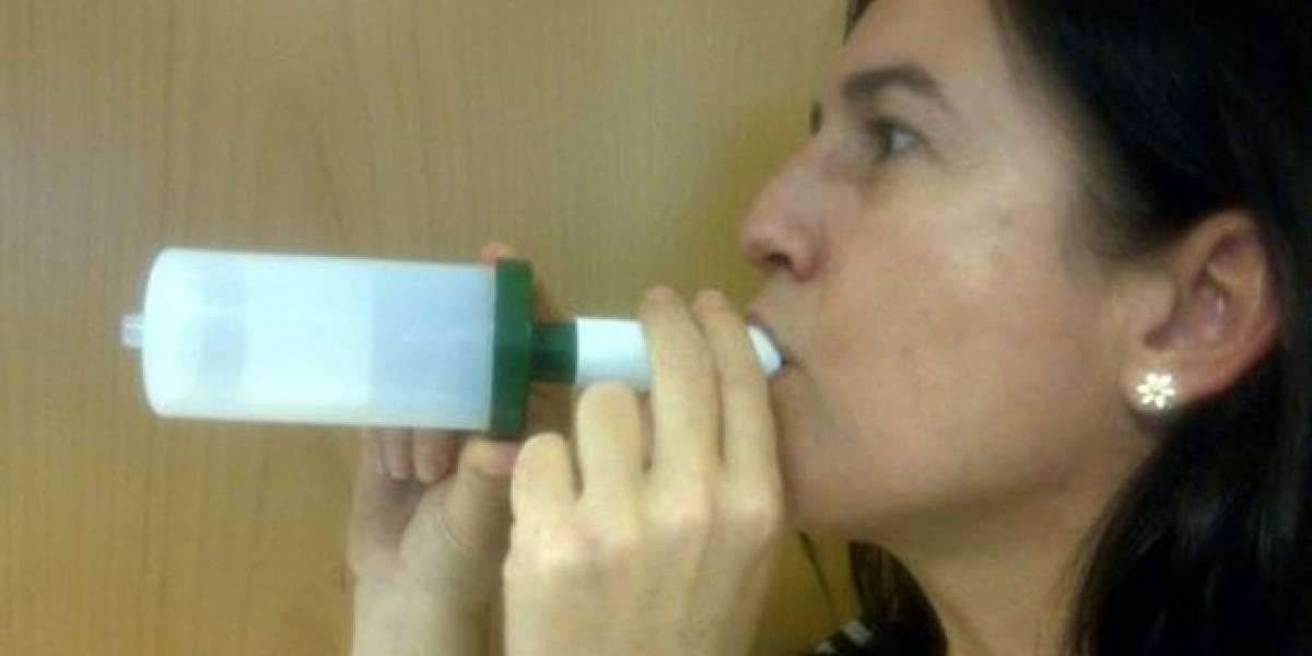 Diseñan sensores que detectan el cáncer de pulmón a través del aliento