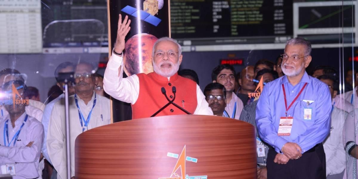 """India envió sonda a Marte """"por menos de lo que costó hacer la película Gravity"""""""