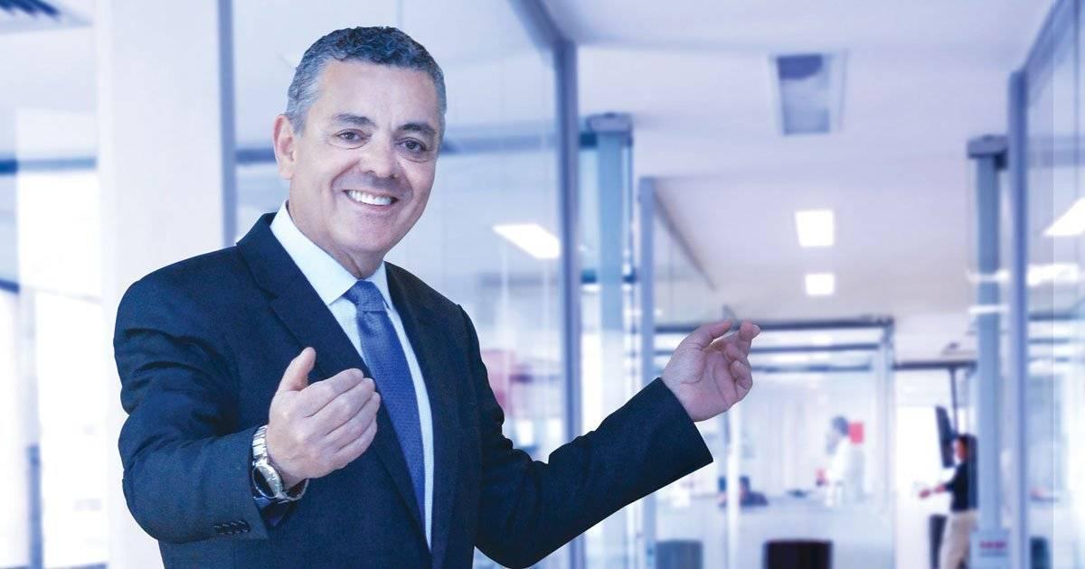 O presidente do CAA, Sérgio Murilo Braga