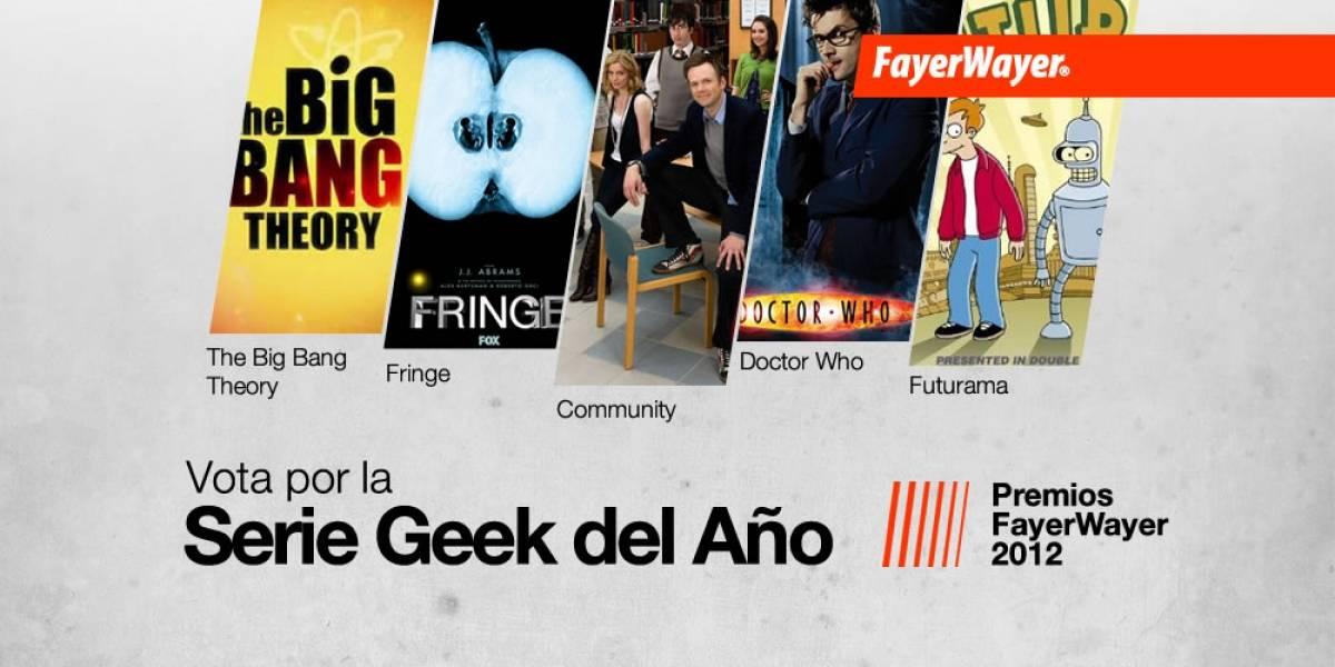 Pila de Oro: Vota por la Mejor Serie Geek del Año 2012