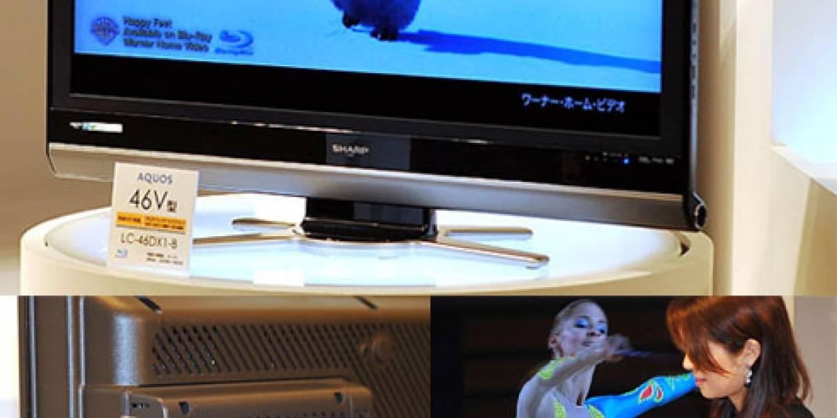 Sharp presenta el primer televisor LCD con grabador de Blu-ray