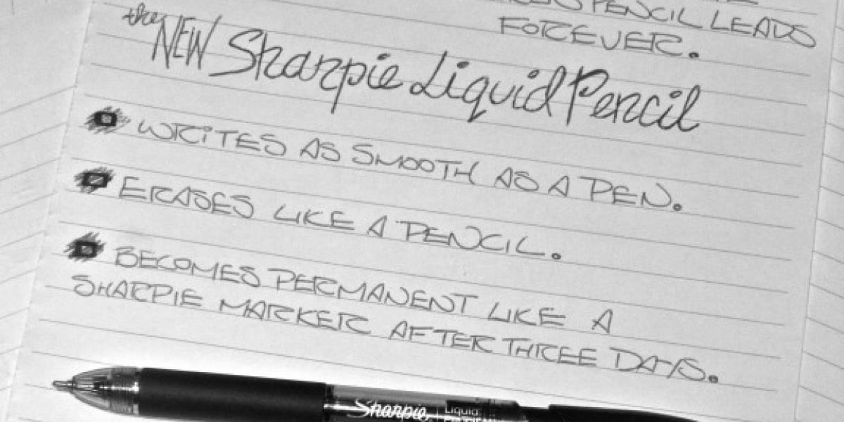 Sharpie inventa el 'boli-lápiz'
