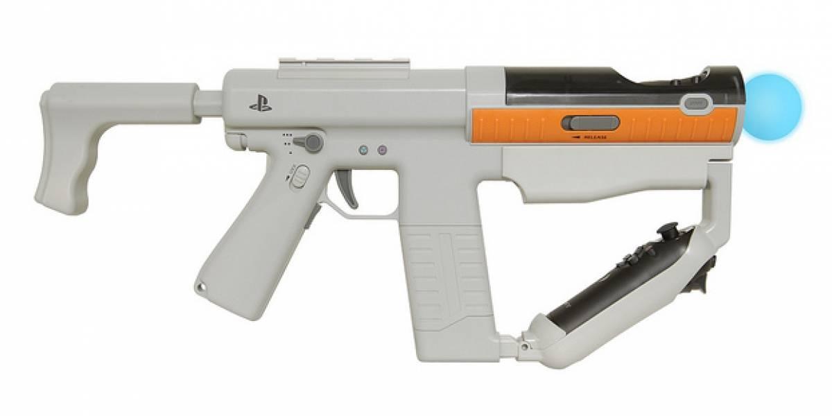 Sony le pone irresistible realismo a Move con metralleta de control dual