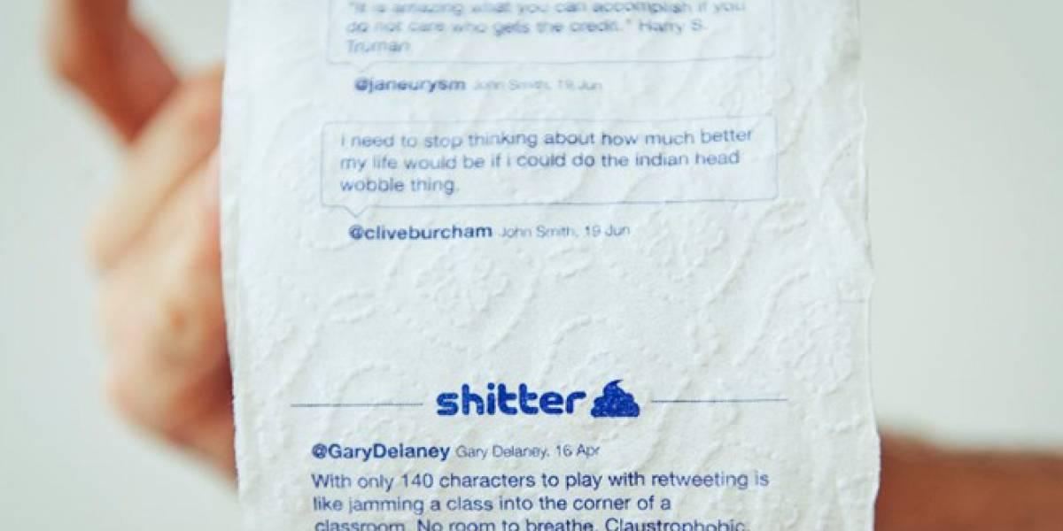 Ahora podemos tener nuestros tweets en el papel higiénico